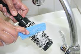 How to Clean Hairbrushes during a Lice Infestation